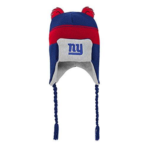 821d4fb4a60 Outerstuff NFL New York Giants Kids Ears Trooper Hat Dark Royal
