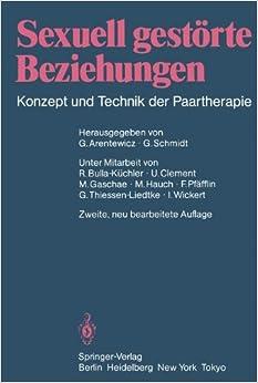 Book Sexuell gestörte Beziehungen: Konzept und Technik der Paartherapie