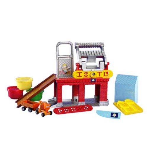 Learning Curve Take Along Bob The Builder - Building Dough Fix & Mix Factory Playset