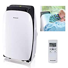 The Honeywell hl Series portable air conditioner combines 3-in-1 technology into one luscious and sleek body, cooling and dehumidifying areas 350-450 square feet. It features an auto-evaporation system, a reliable dehumidifying function as we...