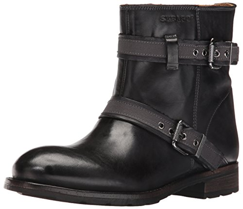 Black Leather Sebago Boot Women's Mid Laney HZqfTY
