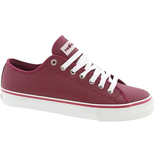 Le Centinaia Mens Valenzuela Low Top (burgundy)