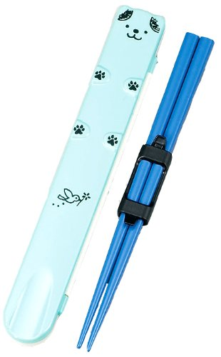 HAKOYA children lunch friend 18.0 Animal chopstick case set (chopsticks holder) puppy 53408 (japan import)