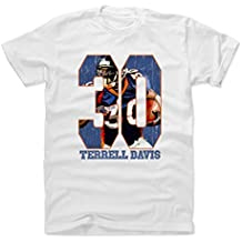 500 LEVEL Terrell Davis Shirt - Vintage Denver Football Fan Gear - Terrell Davis Game