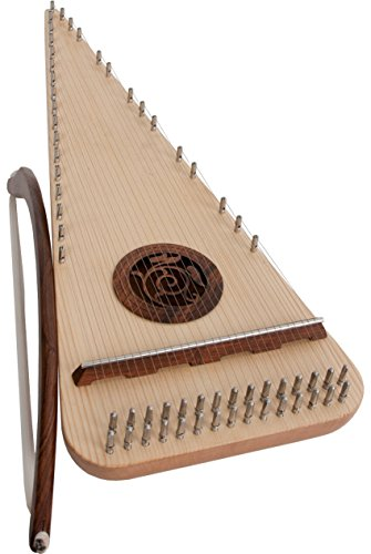 Roosebeck Alto Rounded Psaltery - Left Hand by Roosebeck