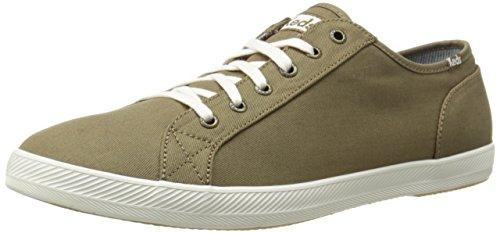 Keds Men's Roster LTT Canvas Fashion Sneaker,Dark Olive,9.5 M US