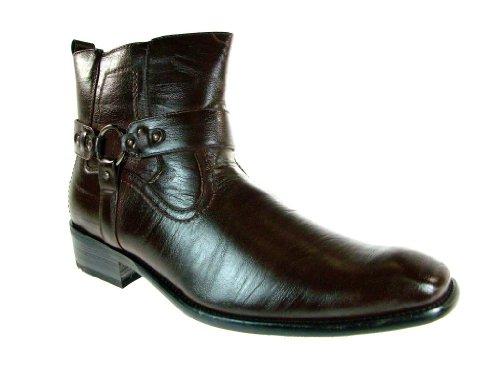 Stivali Da Equitazione Western Western Con Cerniera Da Uomo 670