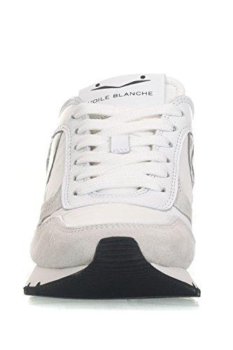 Voile Blanche Julia Velour Tecno Bianco Damen Sneaker