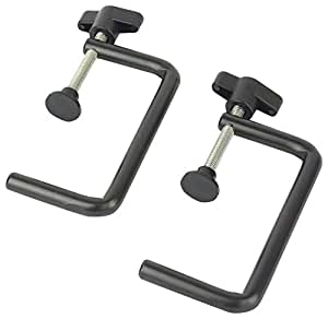 Big Horn 19851 Fence Clamp, 1-1/2-Inch to 3-Inch, 2-Pack