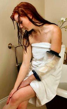10 opinioni per Limbo- Protezione per bende e garze, per uso in da doccia, linea PICC, M65 : 8