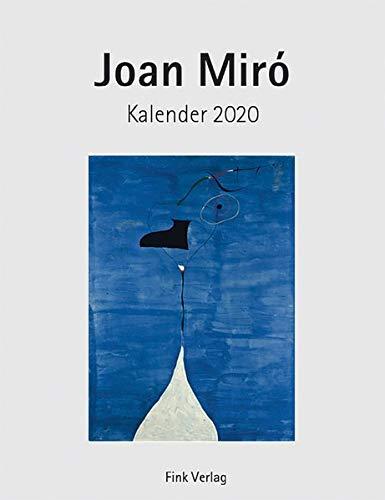 Joan Miró 2020. Kunstkarten-Einsteckkalender