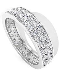 KATARINA Diamond Heart Crown Ring in 10k Two Tone Gold Size-5 1//5 cttw, J-K, SI2-I1