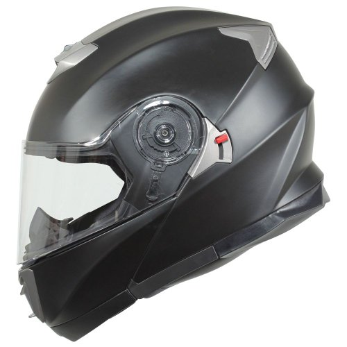 BILT Evolution Modular Motorcycle Helmet - LG, Matte Black