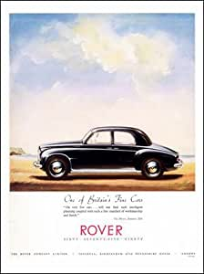 Rover, pekerman anuncio de 1950 (30 x 40 cm Lámina)