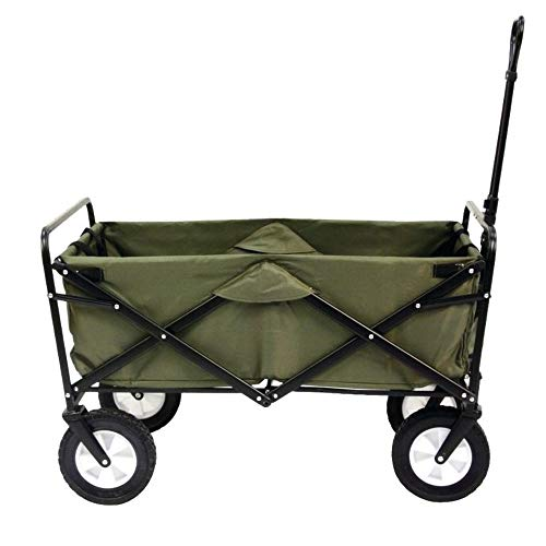 Mac Sports Collapsible Folding Outdoor Utility Wagon, - Wagon Delivery