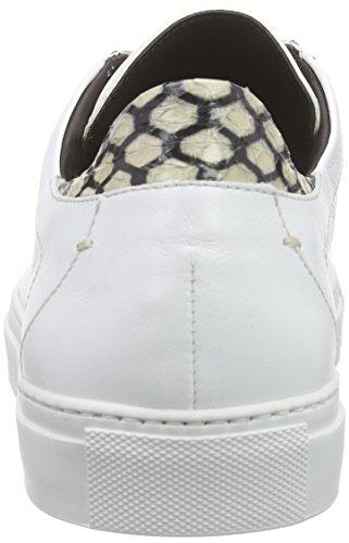 Pollini SCARPAU.SERENA30 SOF.BIAN/ELA.TAUPE - Zapatillas Mujer Blanco