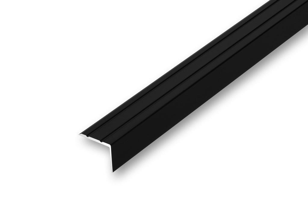 Treppenwinkel 20 x 25 x 1000 mm selbstklebend Treppen-Kantenprofil Stufen-Profil Alu-Winkel-Profil Kantenschutzprofil glatt Stufenprofil 1000 mm selbstklebend, sand