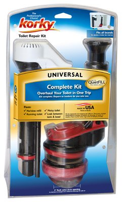 Lavelle Industries 4010PK Korky QuietFILL Universal Toilet Repair Kit