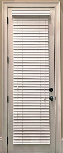 wood door blinds. custommade faux wood horizontal window blinds for doors snow white stark 2 inch slats outside mount door
