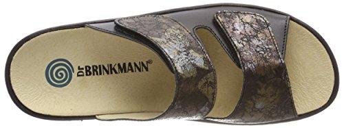 Dr. Brinkmann Damen 701110 Pantoletten Schwarz (Schwarz (1))