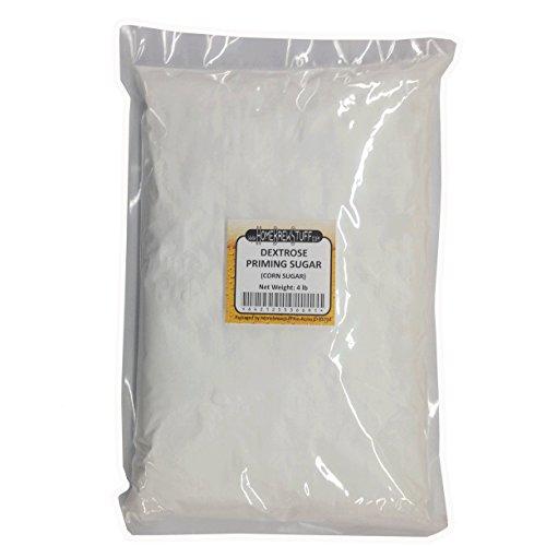 HomeBrewStuff Corn Sugar (Dextrose) priming sugar for beer brewing, Bottling, Moonshine or cooking (4 Pound) (Priming Corn Sugar)