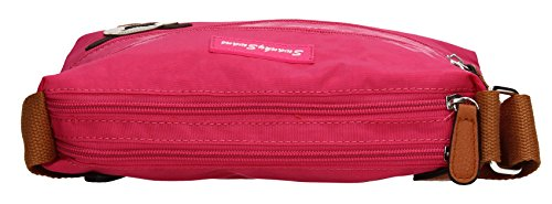 Cross Body Bag SWANKYSWANS Jake Fuschia Womens q6nwpU