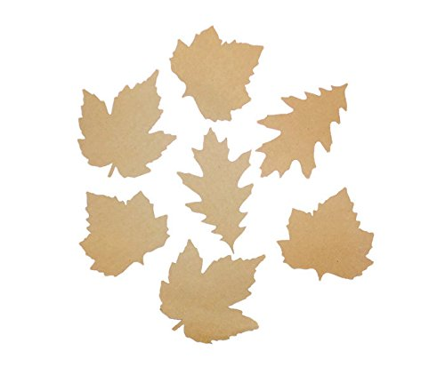 Tin Roof Treasure Kraft Paper Autumn Leaves Assortment 3