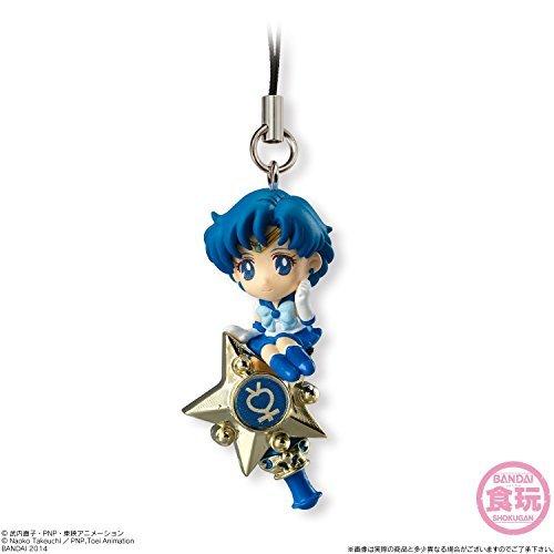 - Bandai Shokugan Sailor Moon Twinkle Dolly (Volume 1) Sailor Mercury with Rod Deformed Mascot Charm
