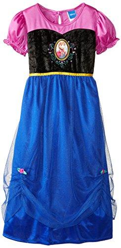disney little girls frozen dressy gown buy online in