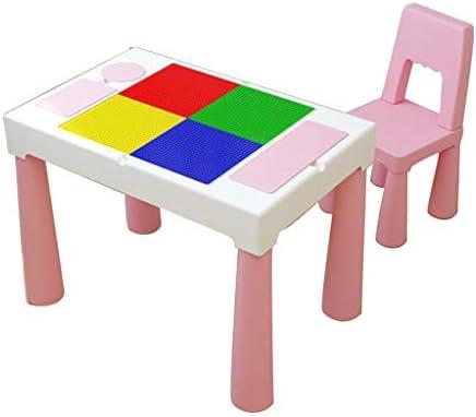 Juegos de mesas y sillas Juego de Mesa y Silla para niños Mesa de Juguete Multifuncional