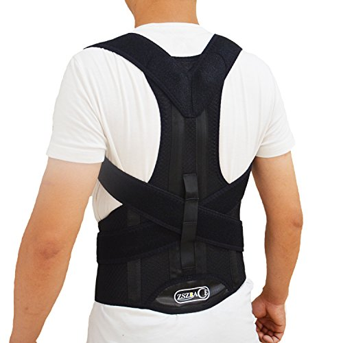 Adjustable Posture Corrector & Back Support Brace – The Most Comfortable, Effective, and Light Weight Brace Available Anywhere. (M) Review