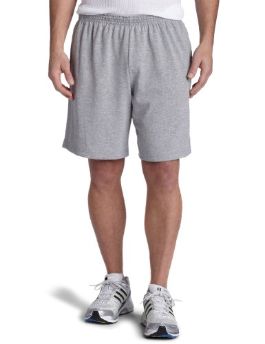 Champion  Men's Rugby Short,Oxford Gray,XX-Large - Mens Cotton Gym Shorts