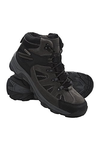 Mountain Warehouse Rapid Womens Waterproof Boots -Ladies Hiking Shoes Black 6 M US Women