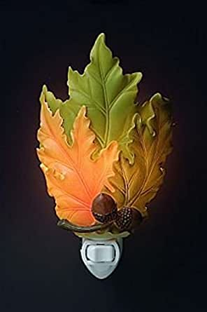 Ibis & Orchid Designs 50011 Fall Leaves Nightlight - Night