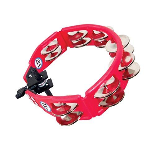 LP161 Cyclops, Steel Jingles, Red, Mountable Tambourine ()