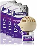 Feliway 3 Pack Classic Starter Kit for Cats (Diffuser and 144 ml Vial)