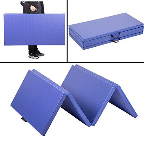 "4'x8'x2""Thick Folding Panel Gymnastics Mat Gym Fitness Exercise Mat"