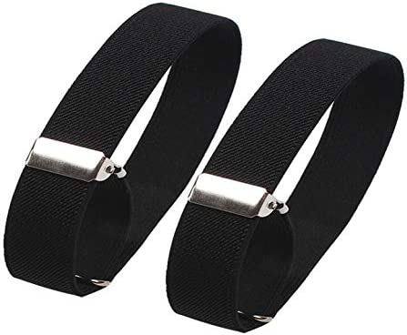 Cyprinus Carpio Elastic Adjustable Armband Shirt Garter Sleeve Holders,Pack of 2