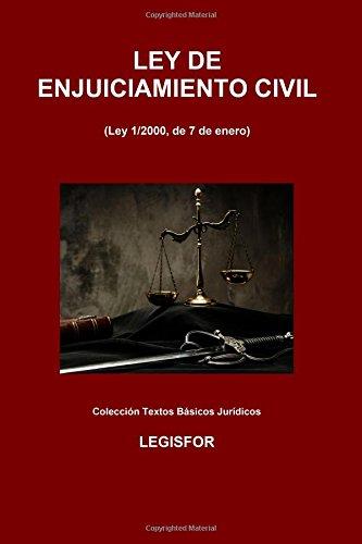 Ley De Enjuiciamiento Civil: 3.ª Edición . Colección Textos Básicos Jurídicos