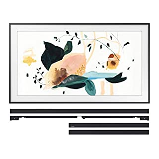 "Samsung QN55LS03TA 55"" The Frame 4K Ultra High Definition QLED Smart TV with a Samsung VG-SCFT55BL 55"" Black Customization Bezel for The Frame TV (2020)"