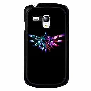 Custom Zelda Logo Theme Phone Case Black Hard Plastic Case Cover For Samsung Galaxy S3 MINI Legend of Zelda Series