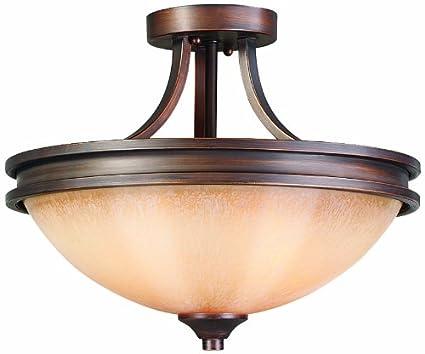 golden lighting fixtures golden lighting 1051sf sbz hidalgo semiflush sovereign bronze finish
