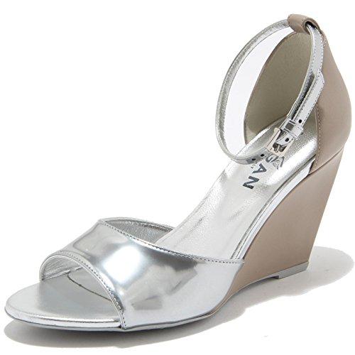 227 Shoes Donna Tortora Zeppa Sandalo Scarpa H Argento 85747 Hogan wHxFI7qUn