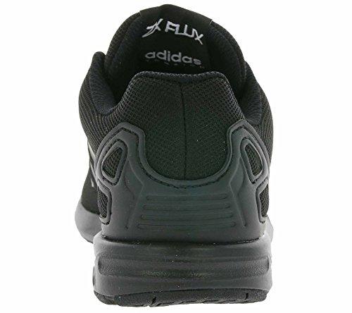 adidas Zx Flux - Tobillo bajo Unisex Niños Negro (Core Black)