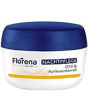 Florena Soepele anti-rimpel nachtverzorging met Q10, per stuk verpakt, (1 x 50 ml)