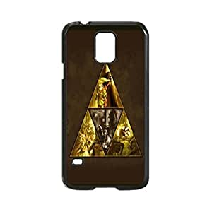 The Legend of Zelda Cool.. Custom Image Case, Diy Durable Hard Case Cover for Samsung Galaxy S5 I9600, High Quality Plastic Case By Argelis-Sky, Black Case New