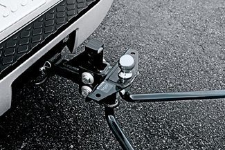 Nissan Genuine Accessories 999T7-WQ820 Class IV Weight Distributing Hitch Ball Mount