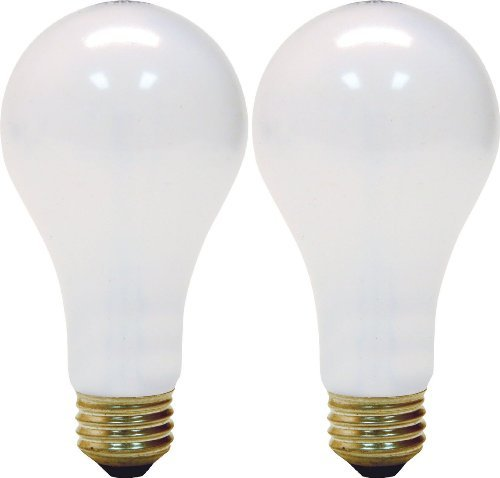 GE 3-Way 50/200/250 Watt Soft White Light Bulb 2-Pack 111828