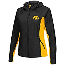 "Iowa Hawkeyes NCAA Women's ""Step Out"" Full Zip Windbreaker Jacket"