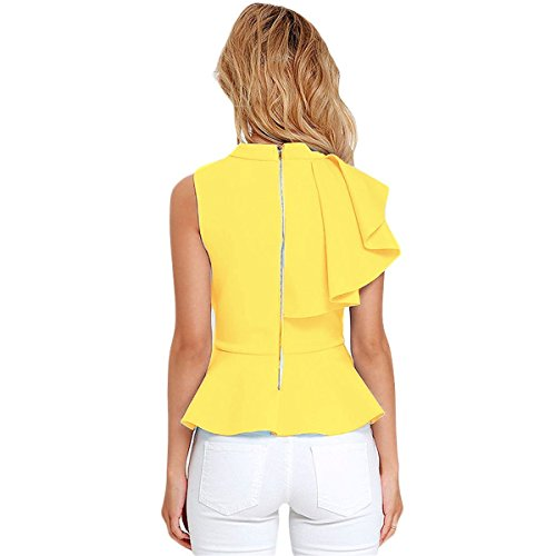 Mela Proibita - Camiseta sin mangas - para mujer amarillo